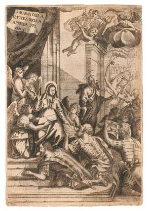 La Madonna della Lettera, Patrona della città di Messina - San Paolo Apostolo dans MARIA VERGINE E SAN PAOLO MESSINA-Madonna_Lettera1