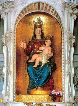 apparizione madonna del covolo verso il 1150 crespano